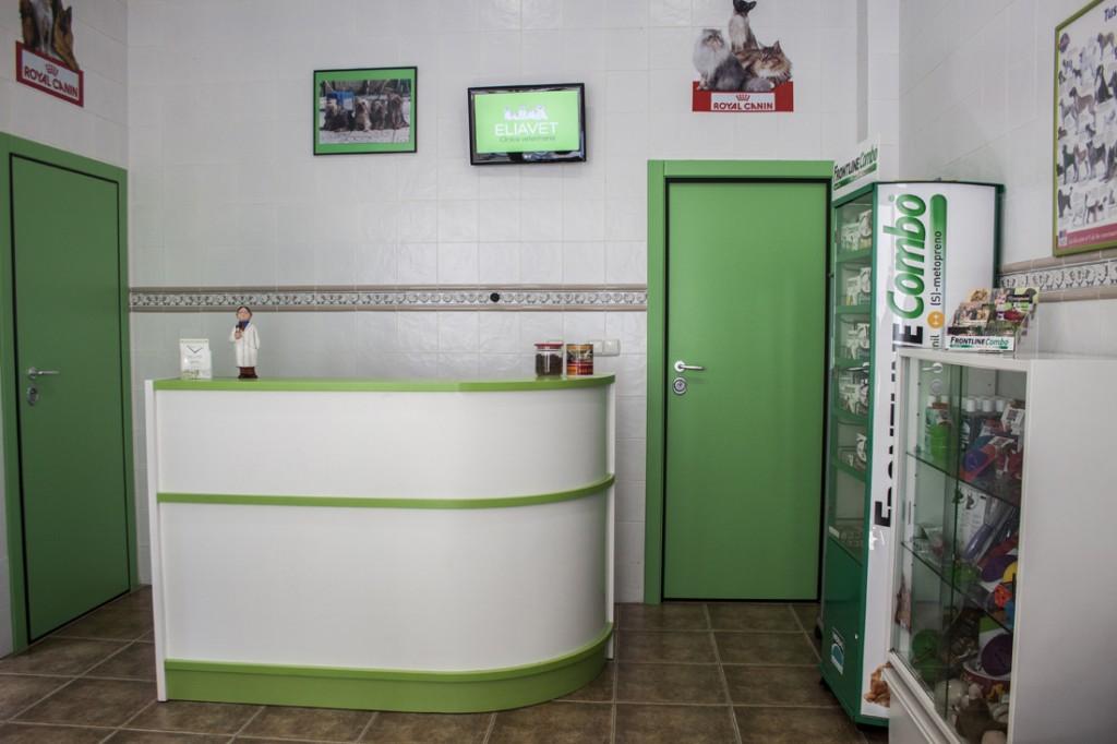 entrada Eliavet veterinario